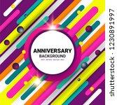 celebration background design... | Shutterstock .eps vector #1230891997
