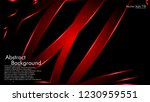 abstract metallic red black... | Shutterstock .eps vector #1230959551