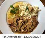 swabian speciality  escalope...   Shutterstock . vector #1230960274