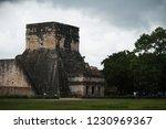 chichen itza yucatan mexico... | Shutterstock . vector #1230969367