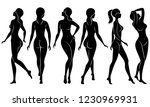 collection. silhouette of a...