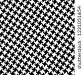 glen plaid pattern in classic... | Shutterstock .eps vector #1231051654