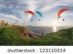 Lima  Peru  Paragliding In...