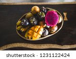 Fruit Plate With Mango  Passion ...