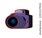 photographic camera isolated... | Shutterstock .eps vector #1231127014