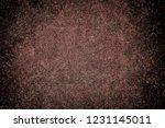 illustration of texture of rust.... | Shutterstock . vector #1231145011