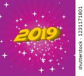 festive background 2019... | Shutterstock .eps vector #1231171801