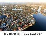 huge number of grandiose houses ... | Shutterstock . vector #1231215967