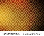 dark yellow  orange vector... | Shutterstock .eps vector #1231219717