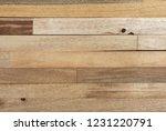 reclaimed wood wall paneling... | Shutterstock . vector #1231220791