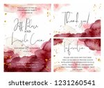 Burgundy  Pink And Gold Wedding ...