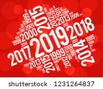 2019 happy new year and...   Shutterstock .eps vector #1231264837