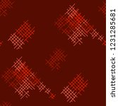 grunge seamless mesh. abstract... | Shutterstock .eps vector #1231285681