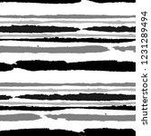 seamless grunge stripes.... | Shutterstock .eps vector #1231289494