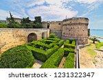 aragonese castle of taranto and ... | Shutterstock . vector #1231322347