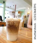 ice caramel macchiato in the... | Shutterstock . vector #1231366591