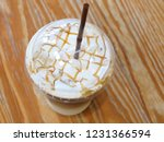 ice caramel macchiato in the... | Shutterstock . vector #1231366594