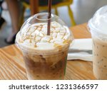 ice caramel macchiato in the... | Shutterstock . vector #1231366597