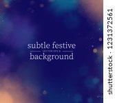 colorful festive design. golden ... | Shutterstock .eps vector #1231372561