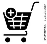 add product  add shopping... | Shutterstock .eps vector #1231382584