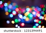 Colorful Bokeh Background ...