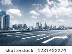 the century avenue of street... | Shutterstock . vector #1231422274