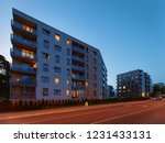 modern apartment house building ... | Shutterstock . vector #1231433131