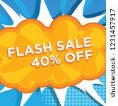 banner flash sale 40  off....