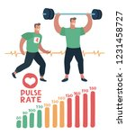 vector cartoon illustration of... | Shutterstock .eps vector #1231458727