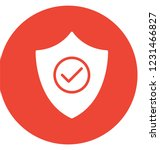 checkmark  defence isolated... | Shutterstock .eps vector #1231466827