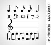 Music Notes Song Treble Clef