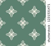 seamless decorative vector... | Shutterstock .eps vector #1231531471