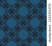 seamless decorative vector... | Shutterstock .eps vector #1231531474