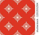 seamless decorative vector... | Shutterstock .eps vector #1231531504