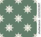 seamless decorative vector... | Shutterstock .eps vector #1231531507
