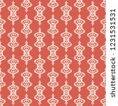 seamless decorative vector... | Shutterstock .eps vector #1231531531