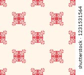 seamless decorative vector... | Shutterstock .eps vector #1231531564