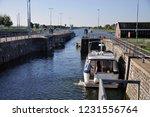 lock near veere | Shutterstock . vector #1231556764