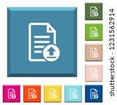 upload document white icons on... | Shutterstock .eps vector #1231562914
