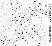 vector background   dna strands ... | Shutterstock .eps vector #1231564024
