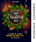 merry christmas party... | Shutterstock .eps vector #1231620814