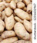 potatoes at market stall as... | Shutterstock . vector #1231632967