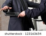 security check | Shutterstock . vector #123163654