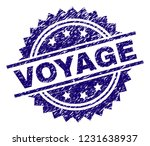 voyage stamp seal watermark...   Shutterstock .eps vector #1231638937