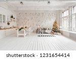 loft style apartment  large... | Shutterstock . vector #1231654414