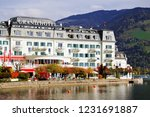 zell am see  austria   may 20 ... | Shutterstock . vector #1231691887