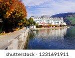 zell am see  austria   may 20 ... | Shutterstock . vector #1231691911