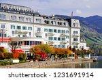zell am see  austria   may 20 ... | Shutterstock . vector #1231691914