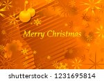 merry christmas text. | Shutterstock .eps vector #1231695814
