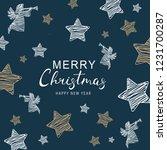 christmas greeting.vector...